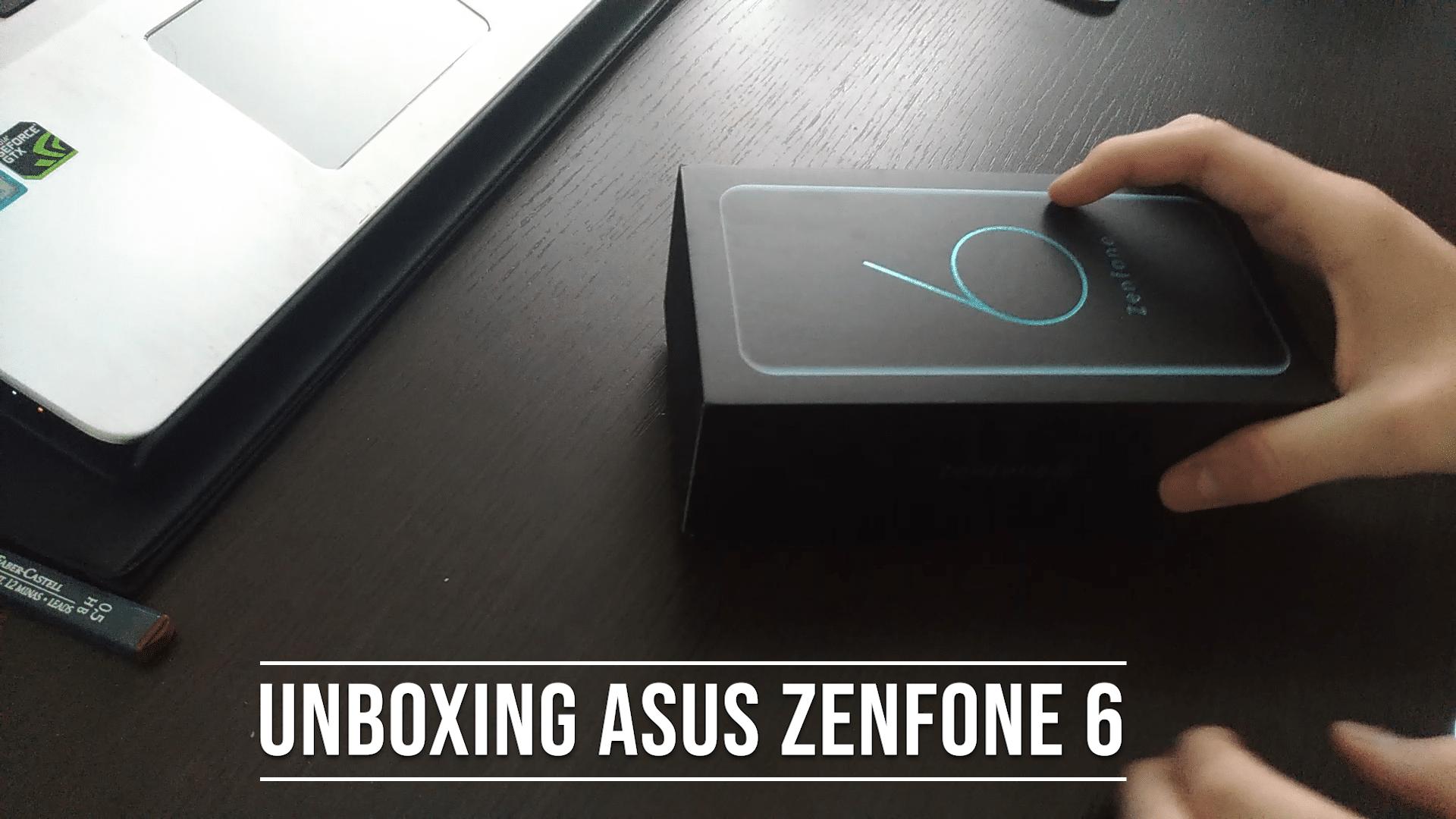 Unboxing Asus Zenfone 6
